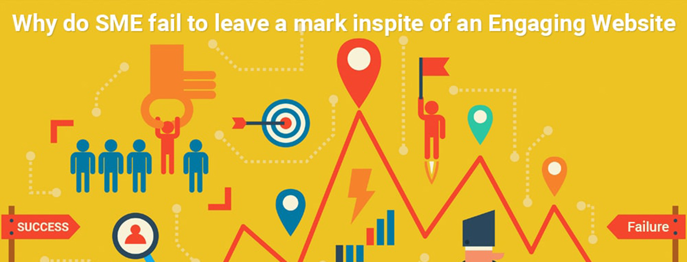 Why do SME fail to leave a mark inspite of an Engaging Website?